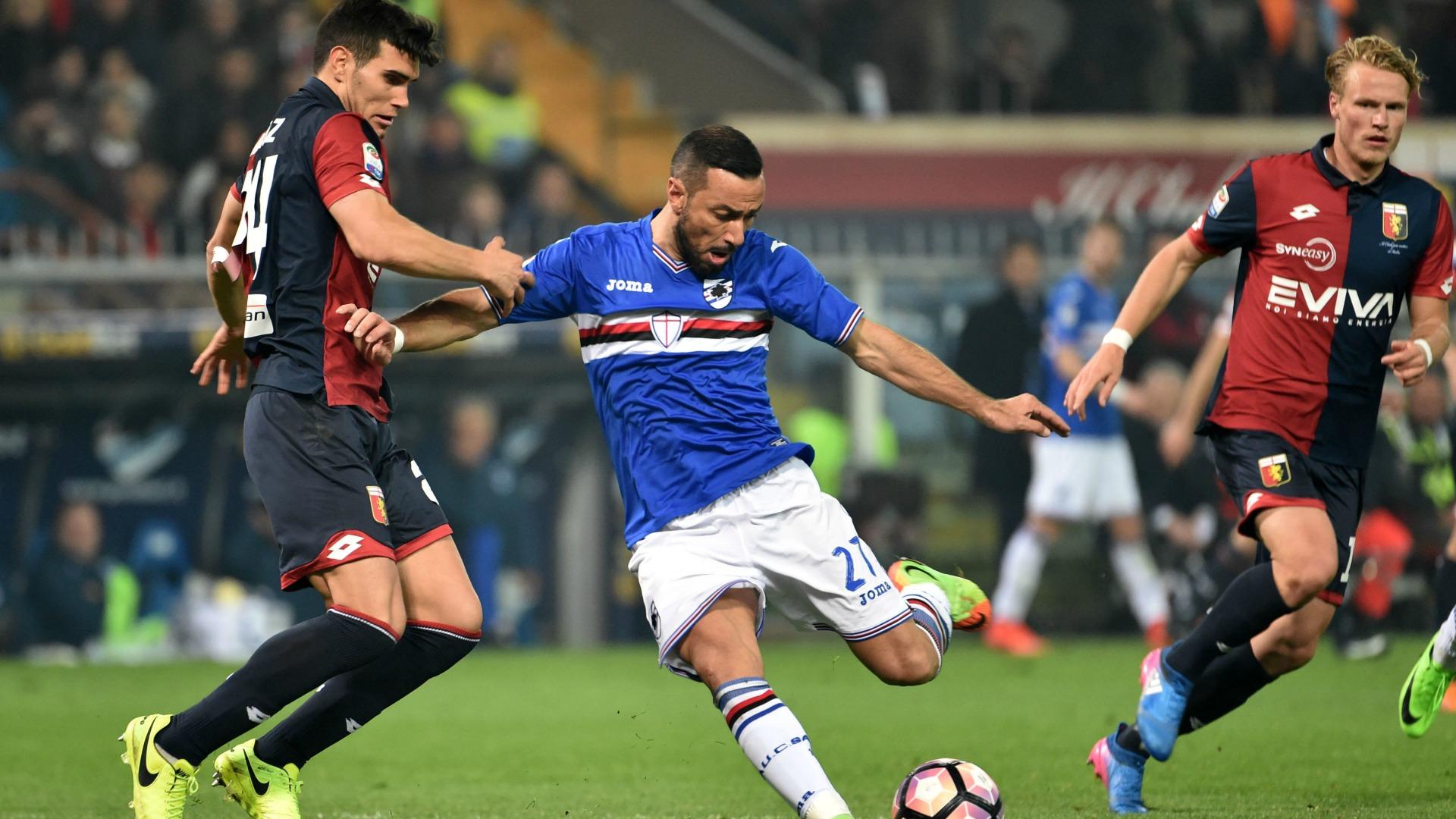 Terza Maglia Sampdoria FABIO QUAGLIARELLA