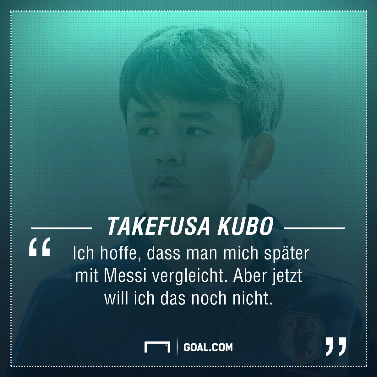GFX Takefusa Kubo Quote