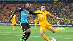 Khama Billiat and Lorenzo Gordinho - Kaizer Chiefs v Sundowns
