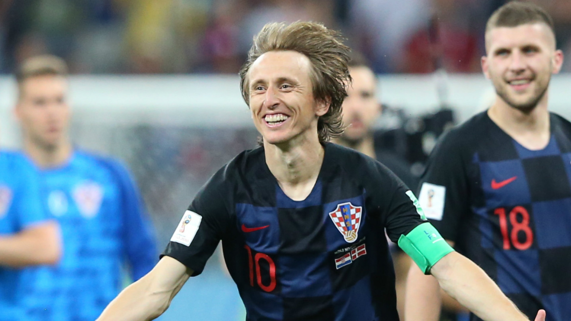 Tired and battered, Croatia reaches its 1st World Cup final