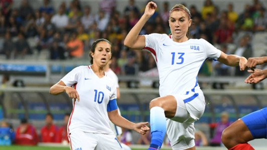 Carli Lloyd Alex Morgan USWNT