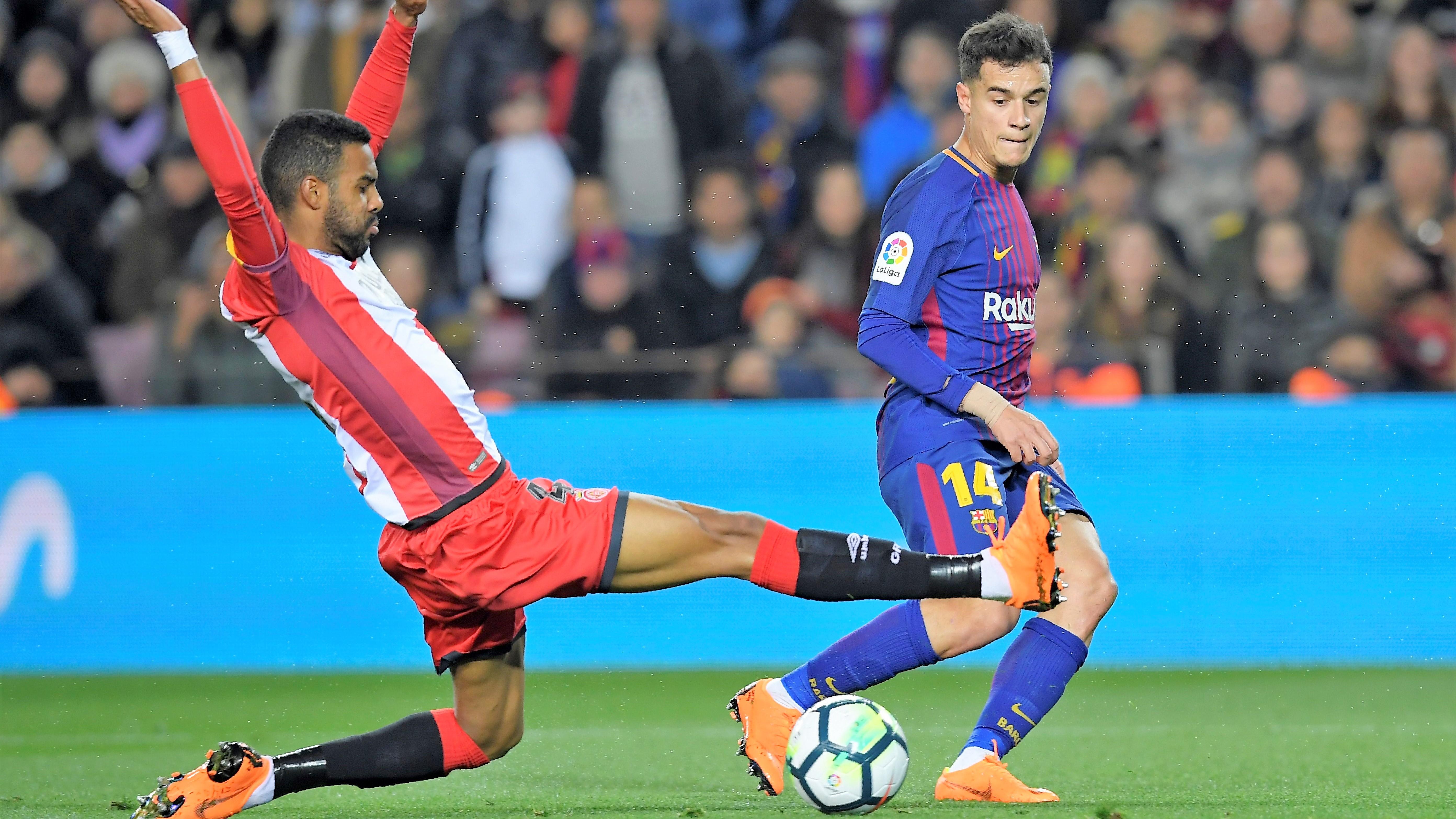 Philippe Coutinho Barcelona Girona LaLiga 24022018
