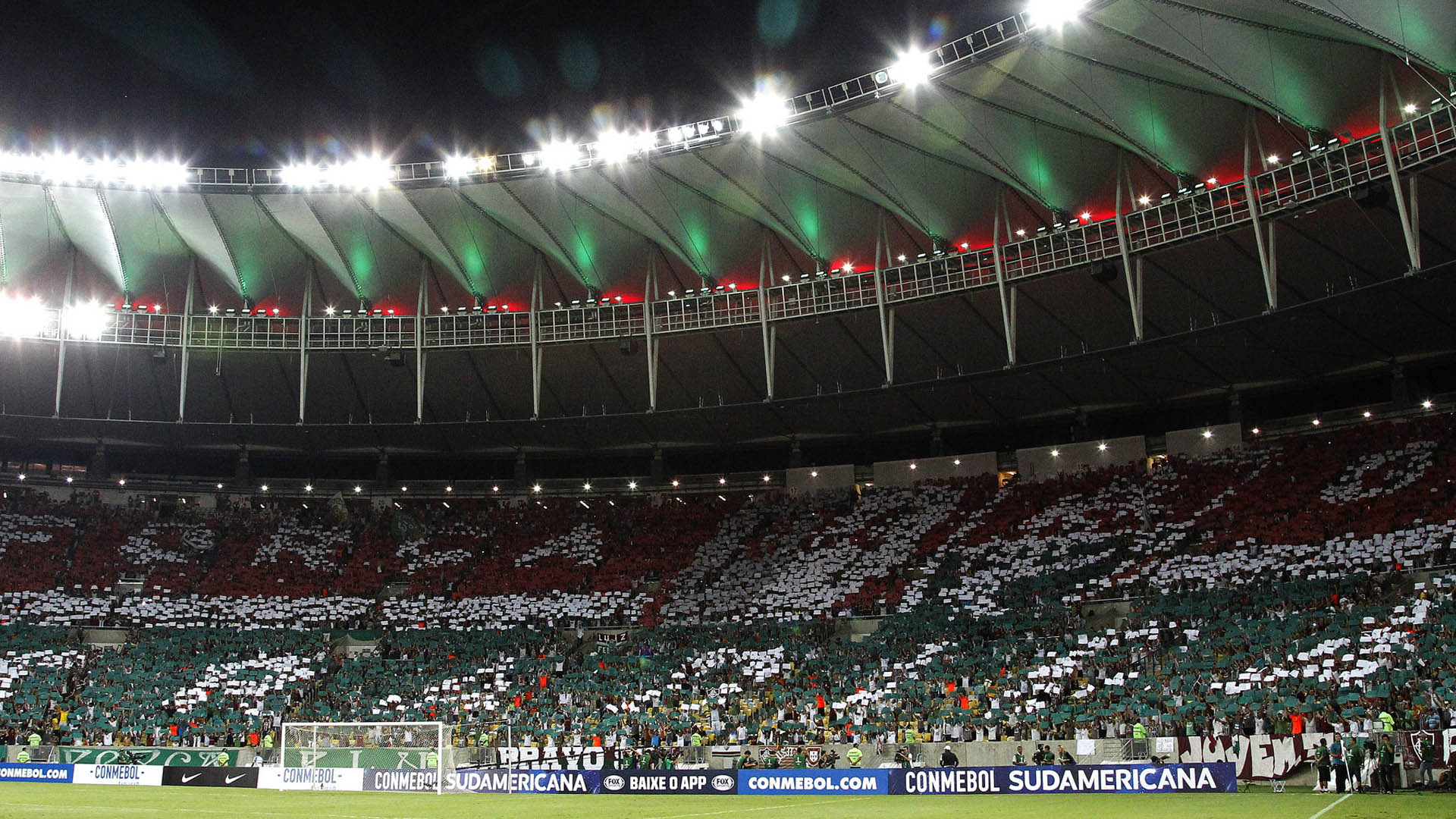 Mosaico Fluminense Maracanã Copa Sul Americana 05 04 17