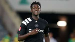 Justice Chabalala, Orlando Pirates, November 2017