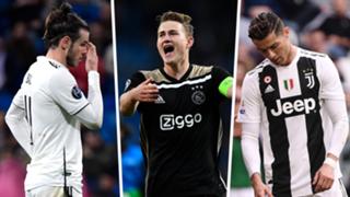Bale De Ligt Ronaldo split
