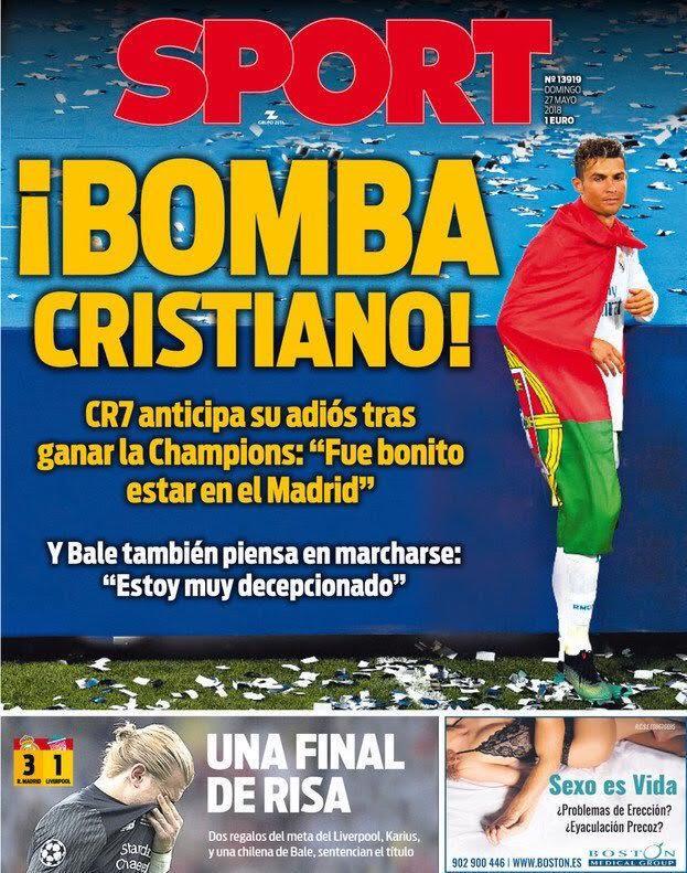 Sport 27/5