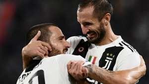 Bonucci Chiellini Juventus Serie A