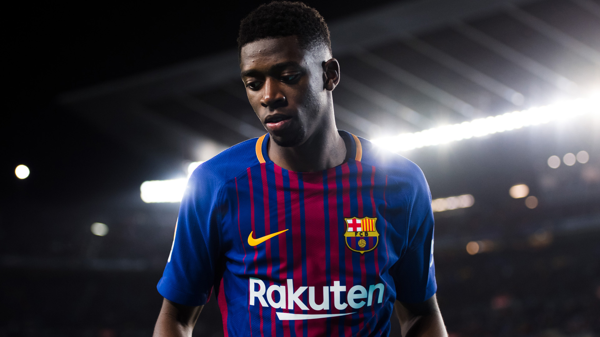 Ousmane Dembele FC Barcelona 07042018
