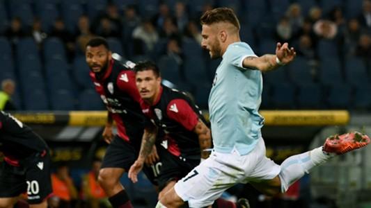 Immobile Lazio Cagliari Serie A