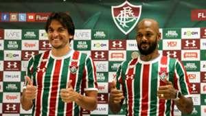 Bruno Silva Matheus Ferraz apresentação Fluminense 07012019