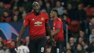 Lukaku Rashford Manchester United Valencia Champions League 02 10 2018
