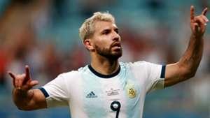 Sergio Kun Aguero Argentina Qatar Copa America 23062019