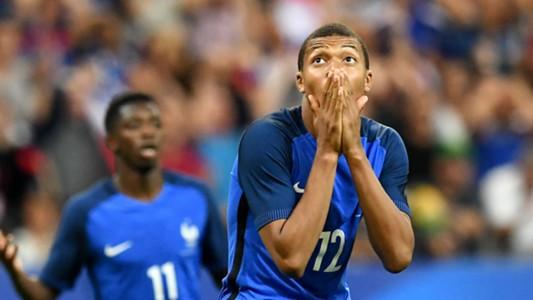 Kylian Mbappe France England