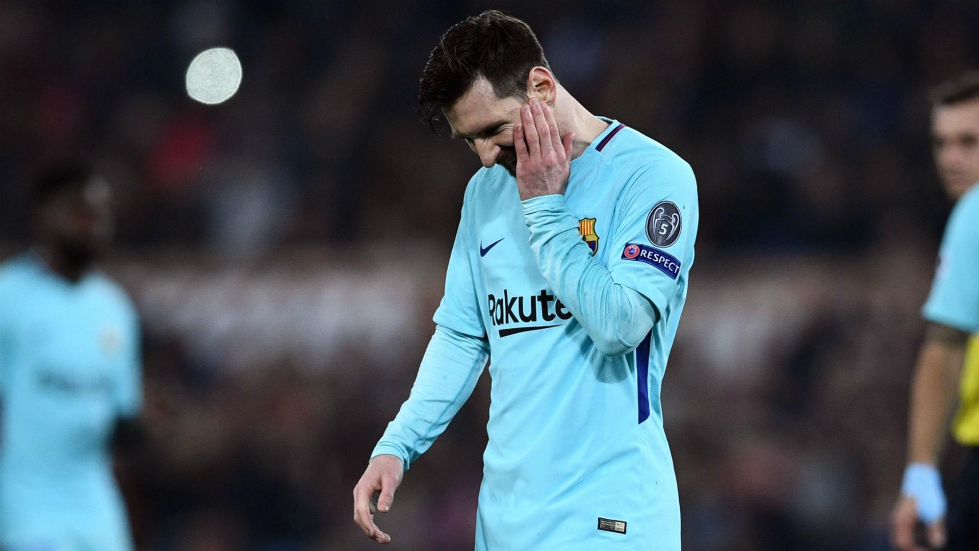 Messi Roma Barcelona Champions League
