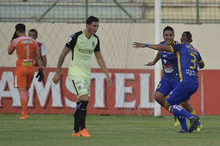 Delfín vs Atlético Nacional Copa Libertadores 15052018