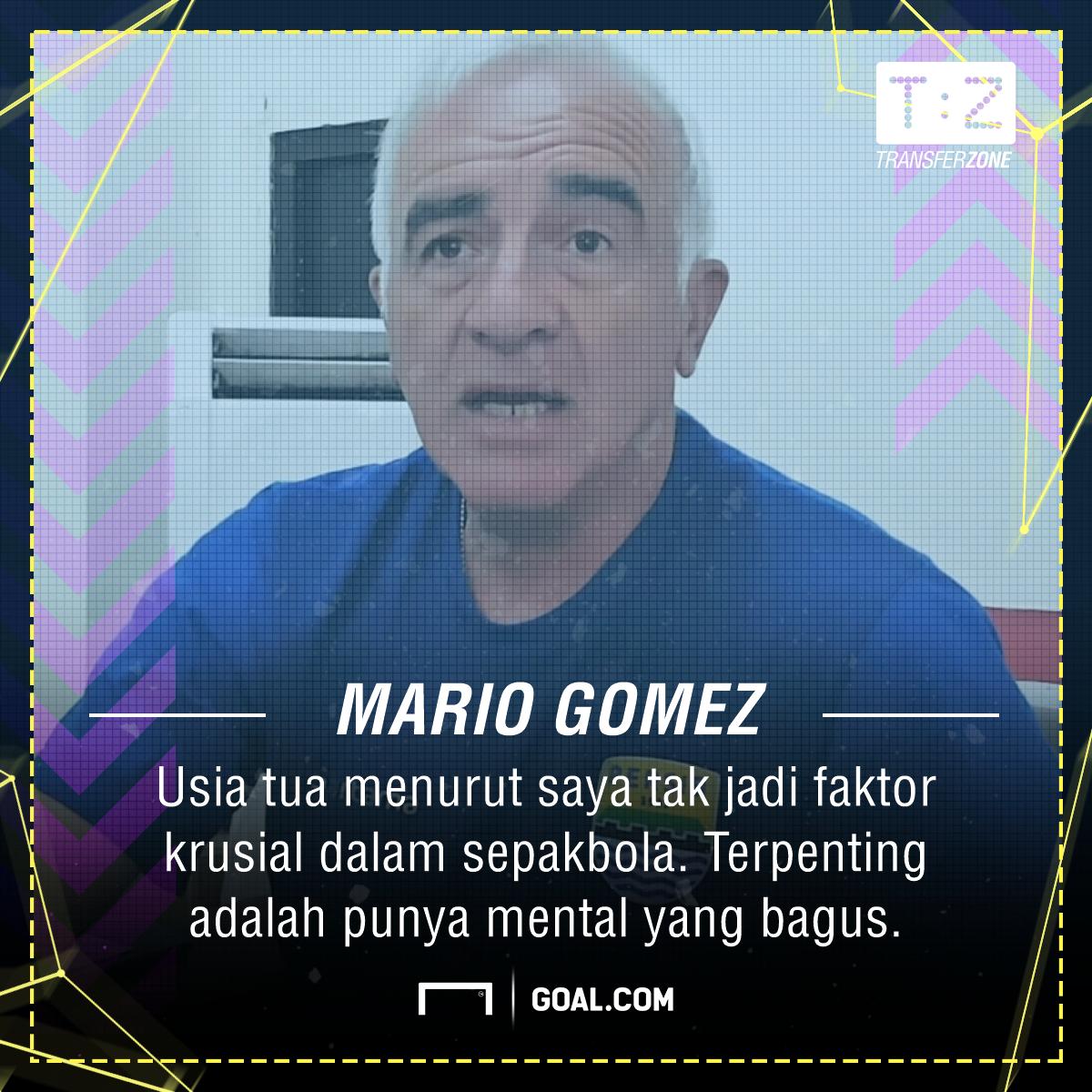 Quotes - Mario Gomez | Persib Bandung