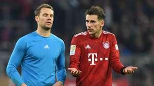 Manuel Neuer Leon Goretzka Bayern Munich 2018-19