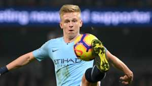 Oleksandr Zinchenko Manchester City 2018-19