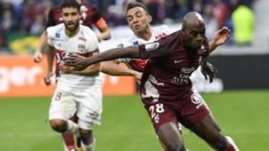 Fernando Marcal Jonathan Rivierez Lyon Metz Ligue 1 29102017
