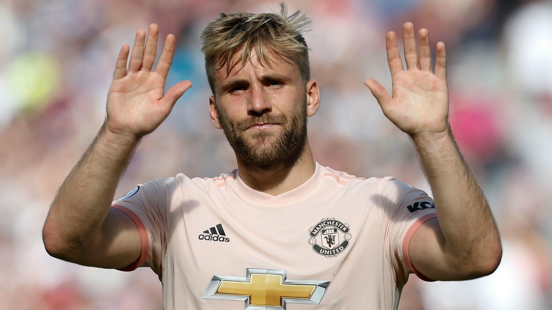 Luke Shaw Manchester United 2018-19