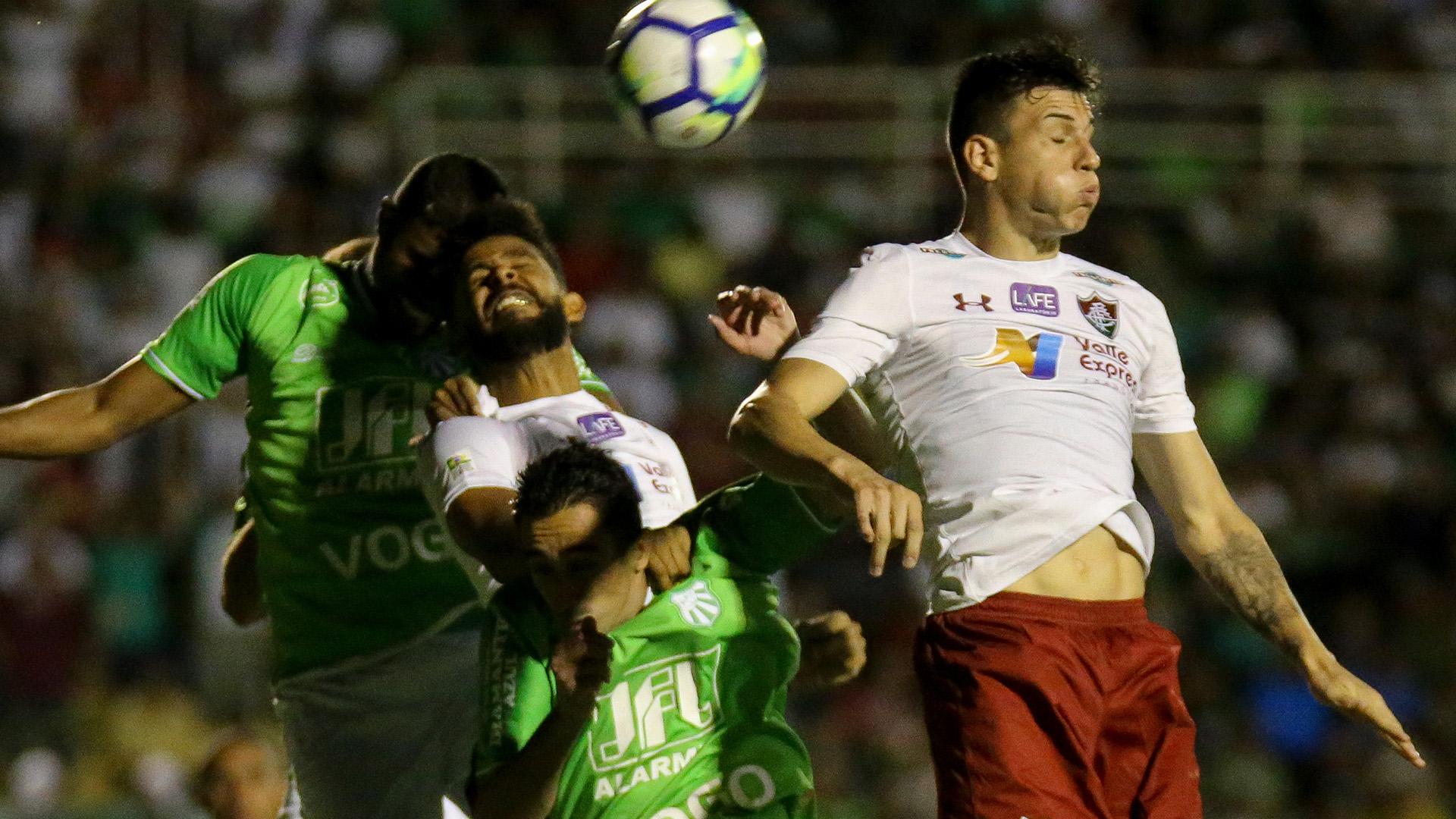 Reginaldo Caldense Fluminense Copa do Brasil 31012018