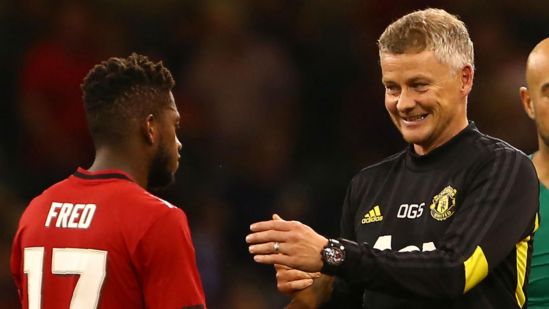 Fred Ole Gunnar Solskjaer Manchester United 2019