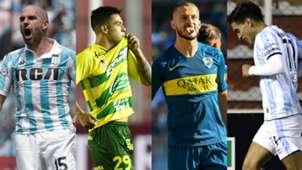 Lisandro Lopez Nicolas Fernandez Dario Benedetto Favio Alvarez Racing Defensa y Justicia Boca Atletico Tucuman Superliga 2019