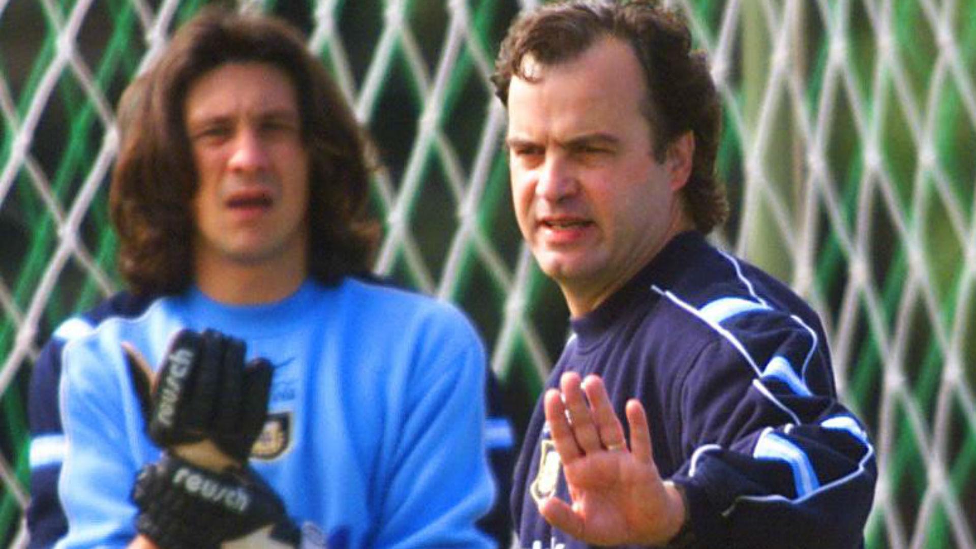 Burgos Bielsa julio 1999 Seleccion argentina