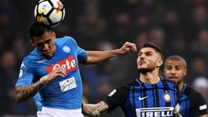 Allan Icardi Inter Napoli Serie A