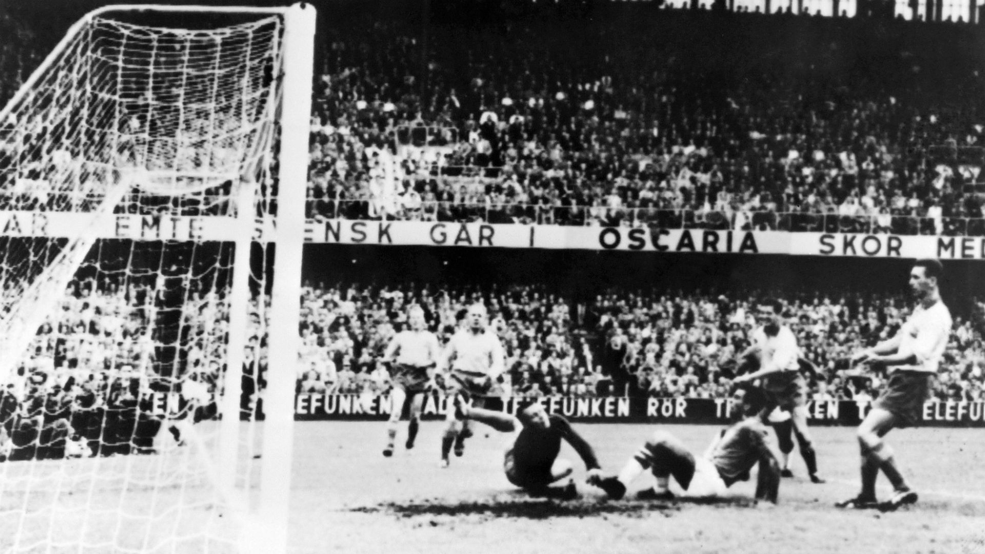 Sweden Brazil FIFA World Cup 1958