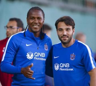 Hugo Rodallega Volkan Sen Trabzonspor