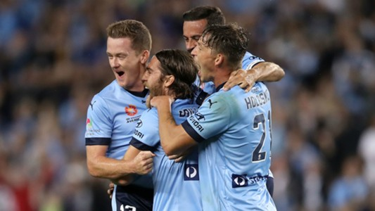 Josh Brillante Sydney FC v Perth Glory A-League 29042017