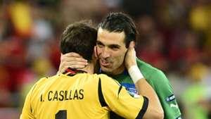 Gianluigi Buffon Iker Casillas