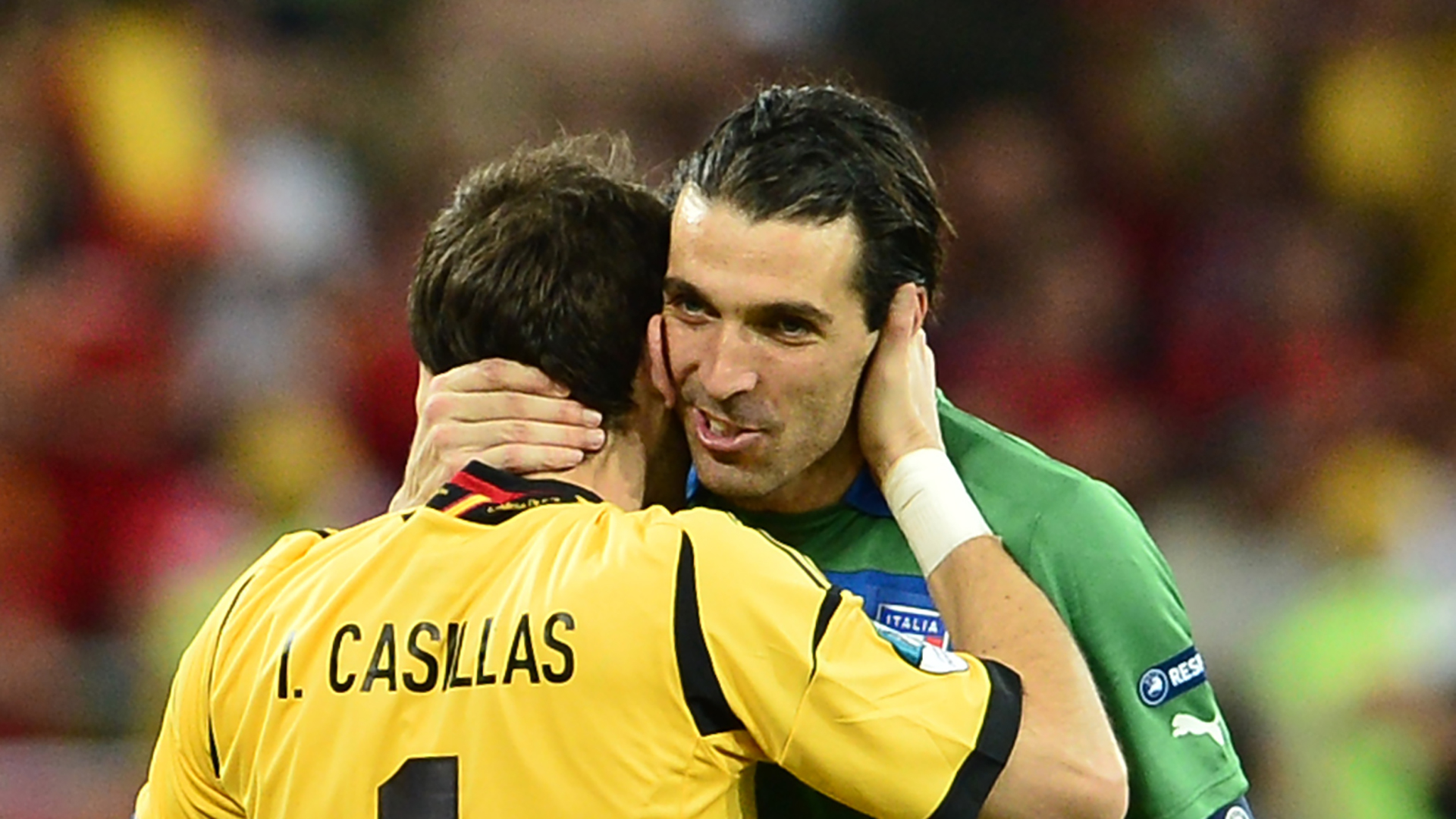 Gianluigi Buffon Iker Casillas