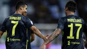 Mandzukic Cristiano Ronaldo Parma Juventus Serie A