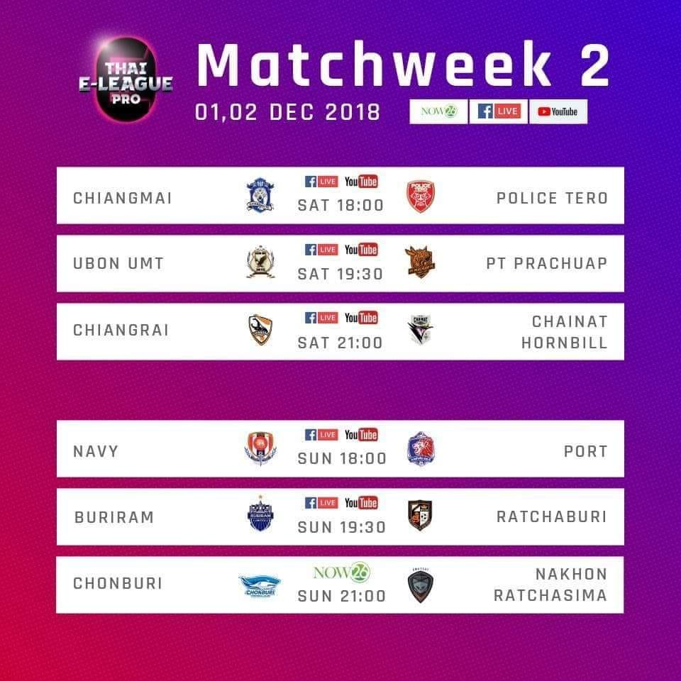 Thai E-League Pro 2018
