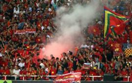 Pháo sáng trận Việt Nam vs Malaysia AFF Cup 2