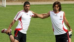 Gennaro Gattuso Andrea Pirlo Milan 05162007