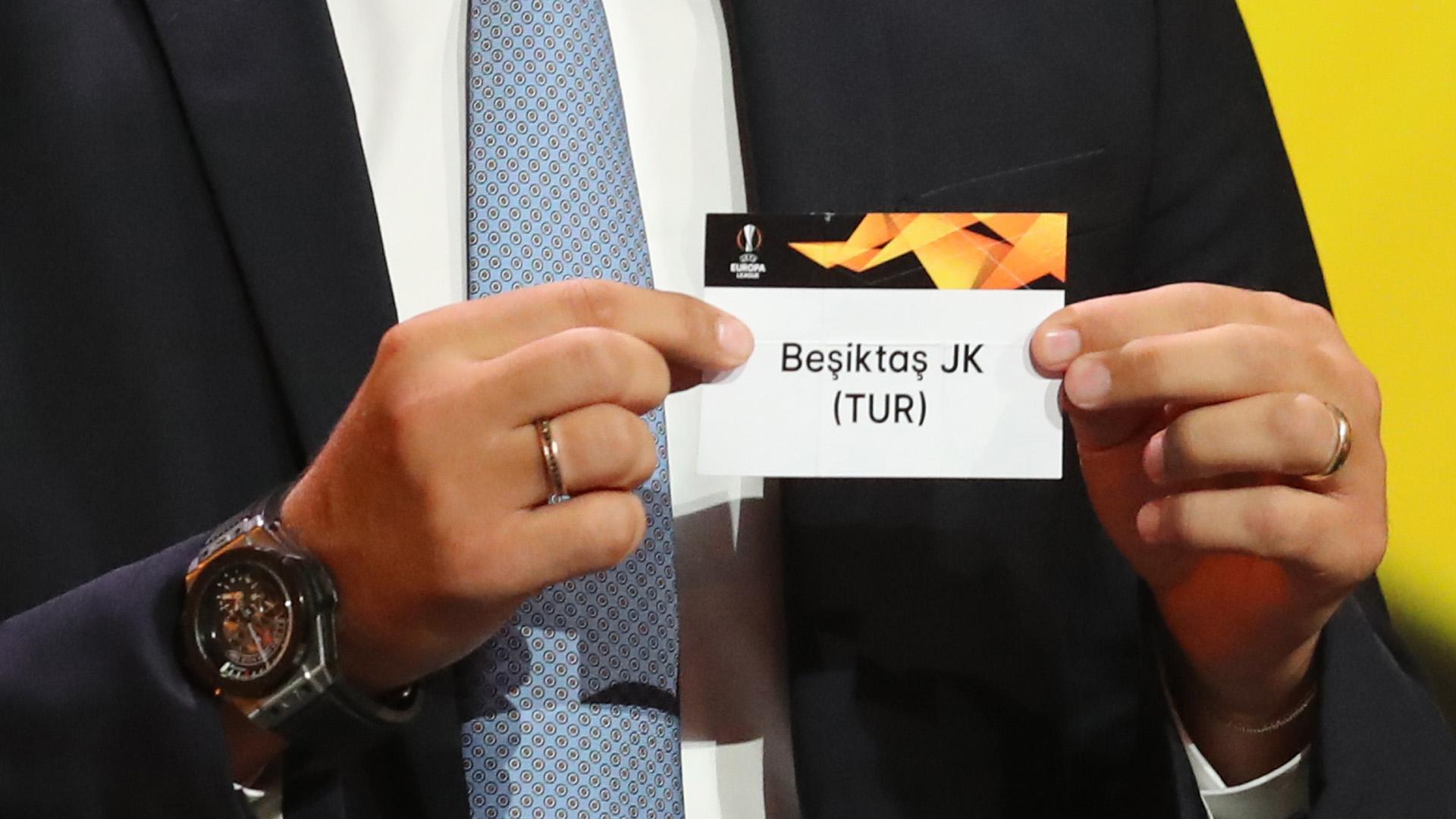 Besiktas Europa League 2018