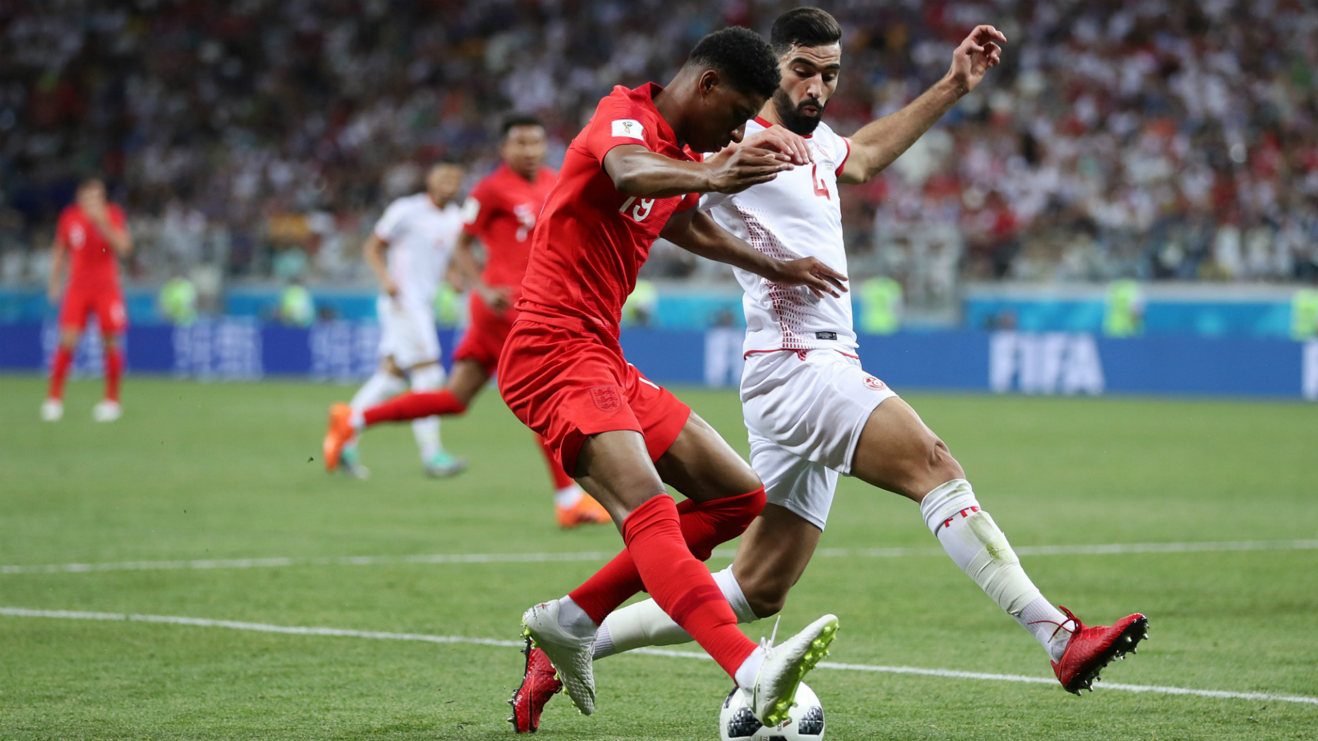 Marcus Rashford England Vs Tunisia World Cup