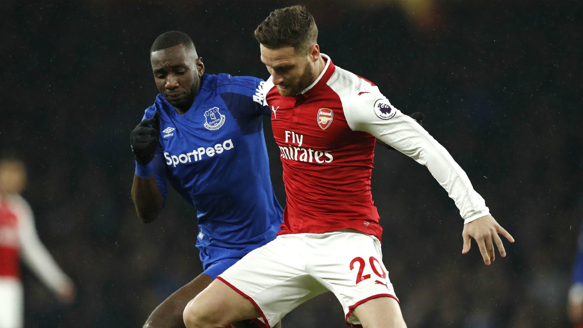 Arsenal vs. Everton