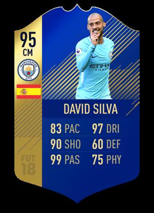FIFA 18 Team of the Season David Silva