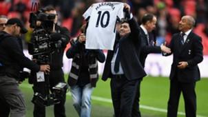 Diego Maradona Tottenham Liverpool Premier League 22102017