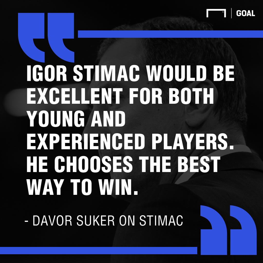 PS Suker on Stimac