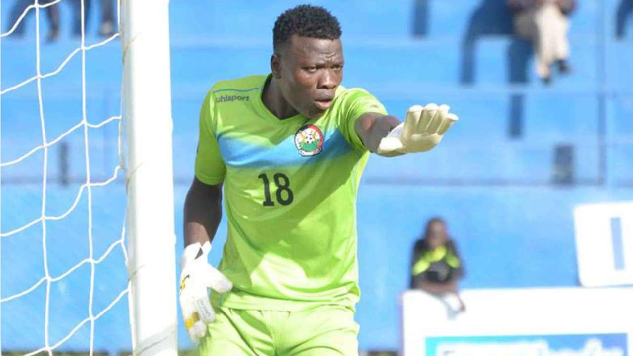 Harambee Stars and Posta Rangers keeper Patrick Matasi.