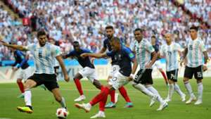Kylian Mbappé France Argentina World Cup 30062018