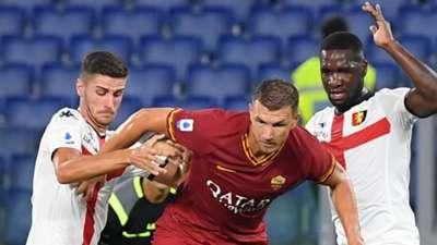 Edin Dzeko Roma Genoa Serie A 2019