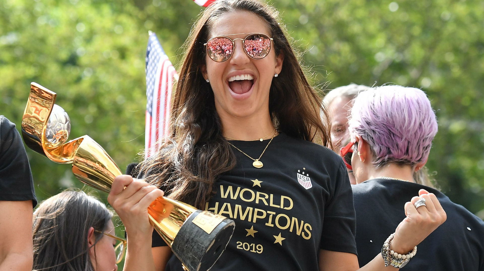 'There's got to be a first for everything': USWNT star Carli Lloyd eyes historic NFL opportunity