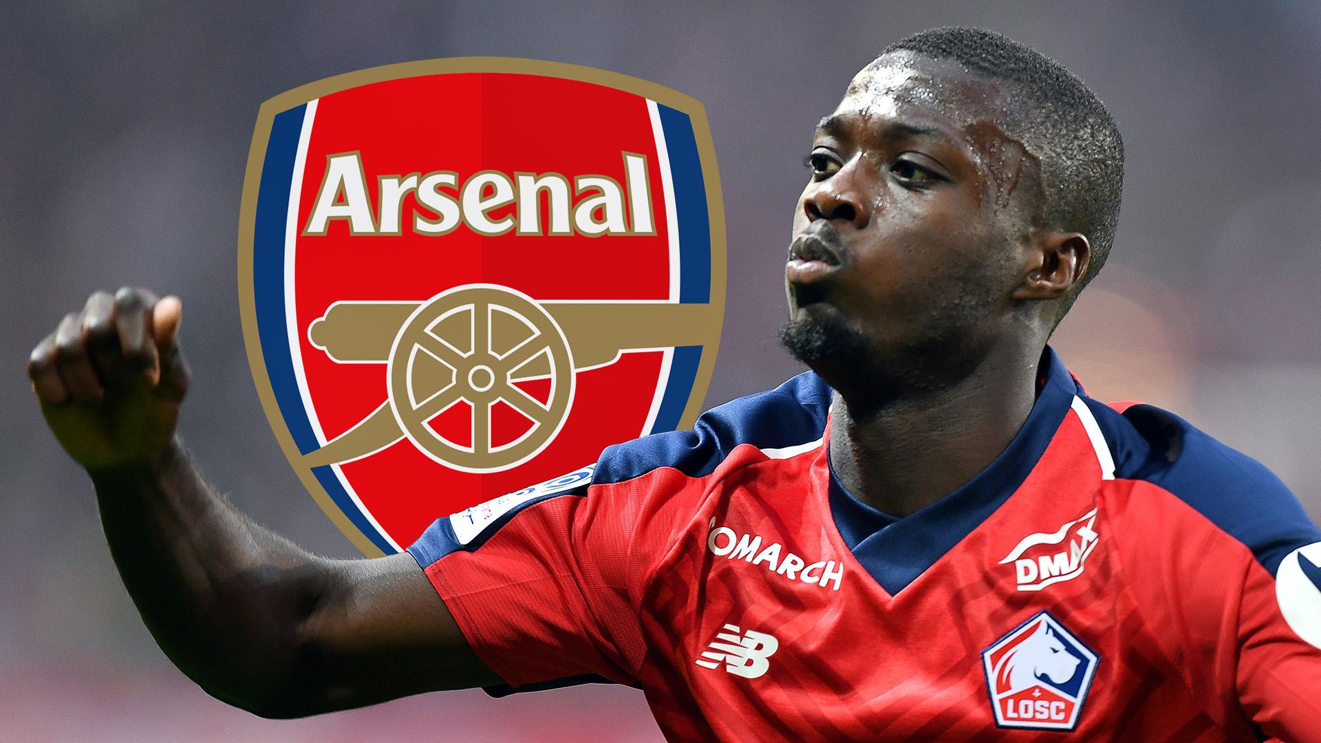 Nicolas Pepe Lille Arsenal