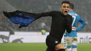 Lautaro Martinez Inter Napoli Serie A